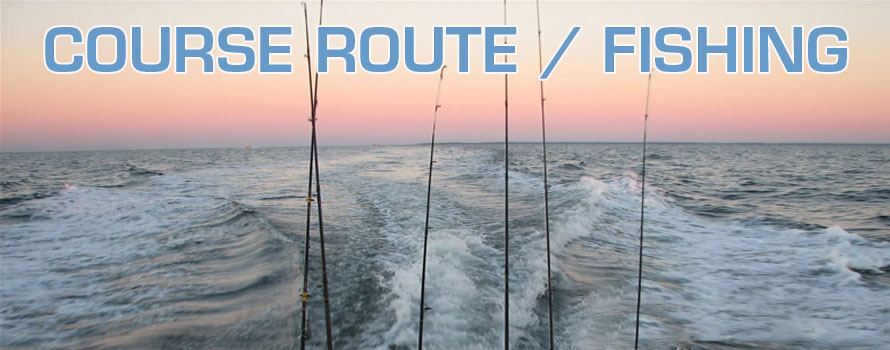 Road Course / Fisheries. FROM 55 € P / PERSON